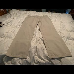 SONOMA Men's NWT Khaki Straight Fit Pants.34x32